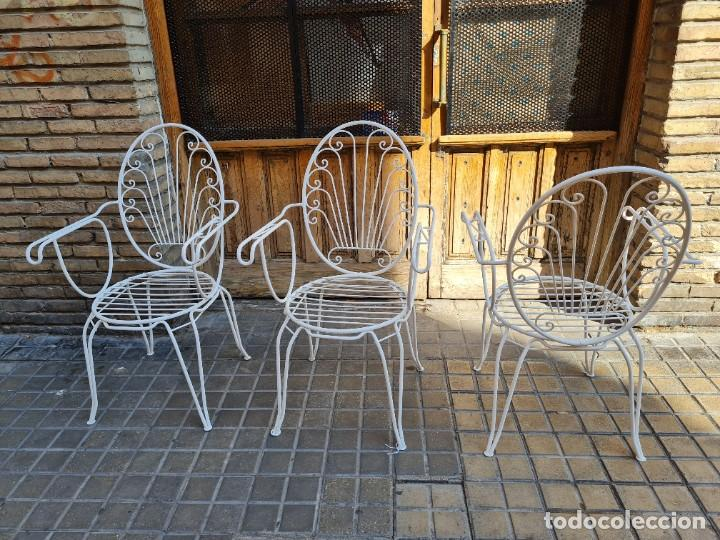 Antigüedades: Sillas jardín - Foto 7 - 276938648