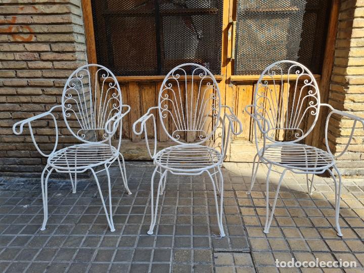 Antigüedades: Sillas jardín - Foto 8 - 276938648