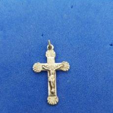 Antigüedades: CRUZ DE PLATA, COLGANTE. Lote 276949643