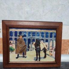 Antigüedades: AZULEJO ANTIGUO DE DANIEL ZULOAGA INMEJORABLE ESTADO FUE EXPUESTO EN UN MUSEO DE PARIS MIRA!!. Lote 276971223