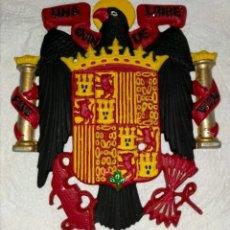 Antiquités: ÁGUILA DE SAN JUAN EN METAL. Lote 277010483
