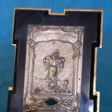 Antigüedades: MARCO-RELICARIO, DEL MÁRTIR JEAN-GRABIEL PERBOYRE.. Lote 277014403