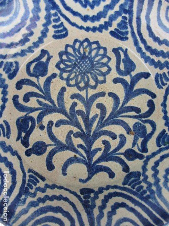 Antigüedades: Fuente en cerámica de Fajalauza del siglo XIX - Foto 2 - 277081163