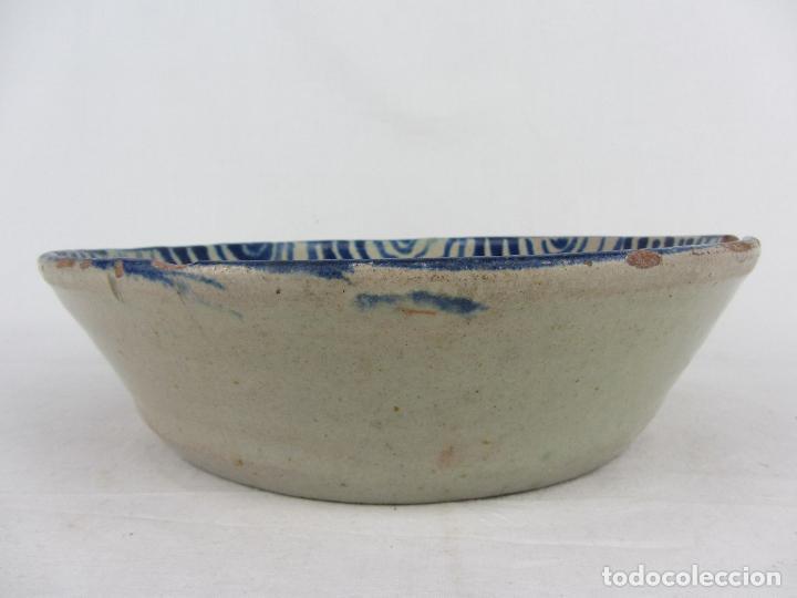 Antigüedades: Fuente en cerámica de Fajalauza del siglo XIX - Foto 6 - 277081163