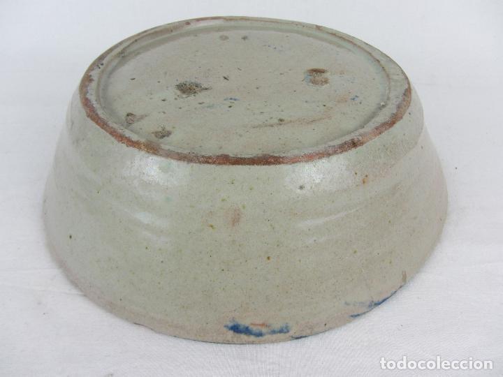 Antigüedades: Fuente en cerámica de Fajalauza del siglo XIX - Foto 7 - 277081163