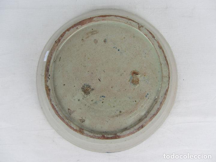 Antigüedades: Fuente en cerámica de Fajalauza del siglo XIX - Foto 8 - 277081163