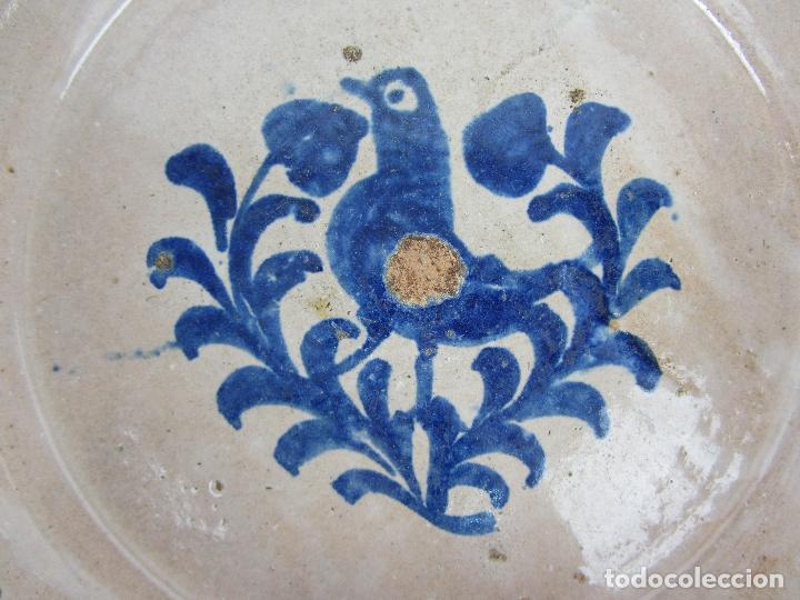 Antigüedades: Fuente de Fajalauza con pájaro, del siglo XIX - Foto 2 - 277081988