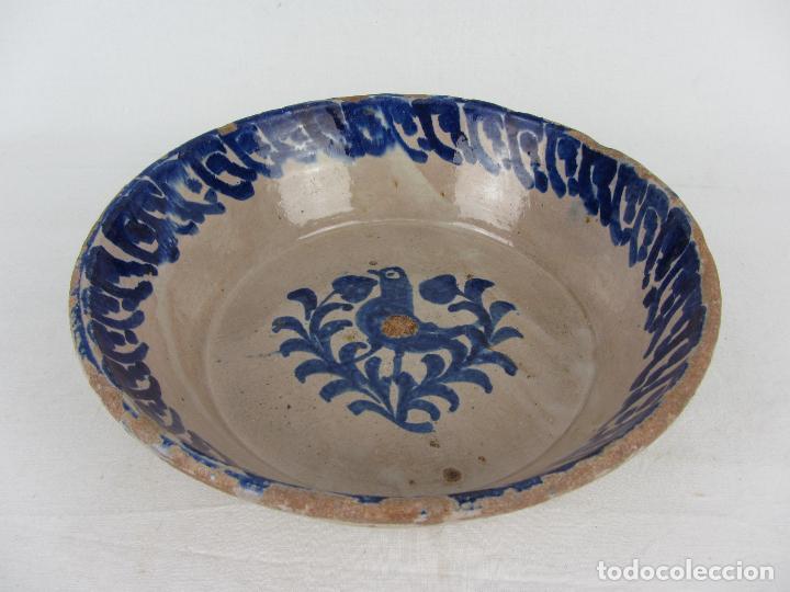 Antigüedades: Fuente de Fajalauza con pájaro, del siglo XIX - Foto 3 - 277081988