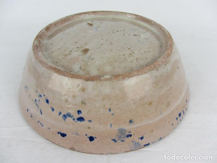 Antigüedades: Fuente de Fajalauza con pájaro, del siglo XIX - Foto 6 - 277081988