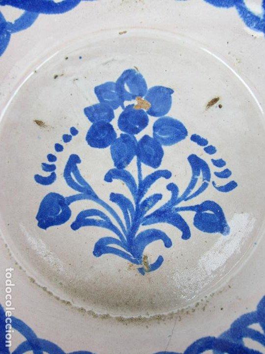 Antigüedades: Fuente en cerámica de Fajalauza, del siglo XIX - Foto 2 - 277082763