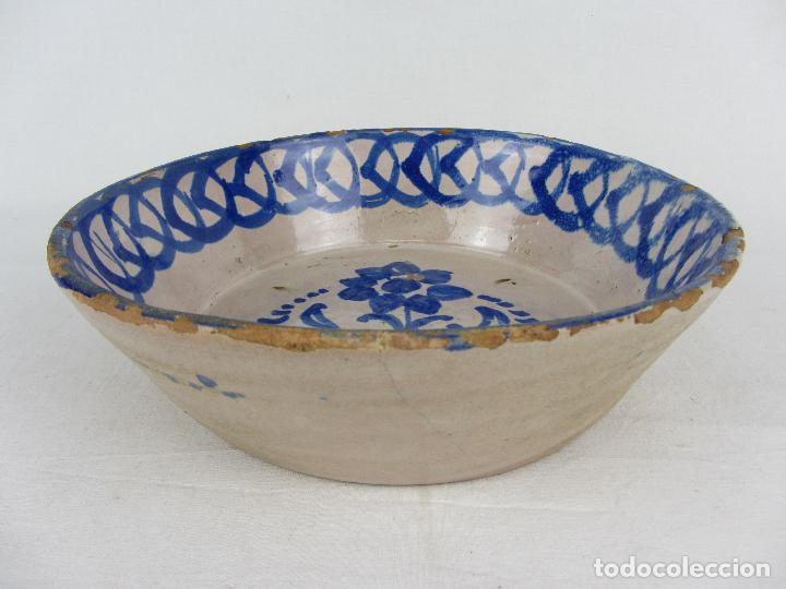 Antigüedades: Fuente en cerámica de Fajalauza, del siglo XIX - Foto 4 - 277082763
