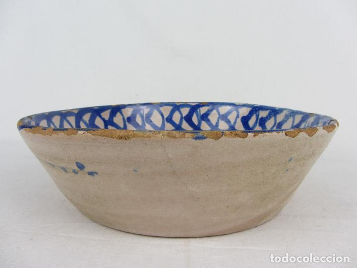 Antigüedades: Fuente en cerámica de Fajalauza, del siglo XIX - Foto 5 - 277082763