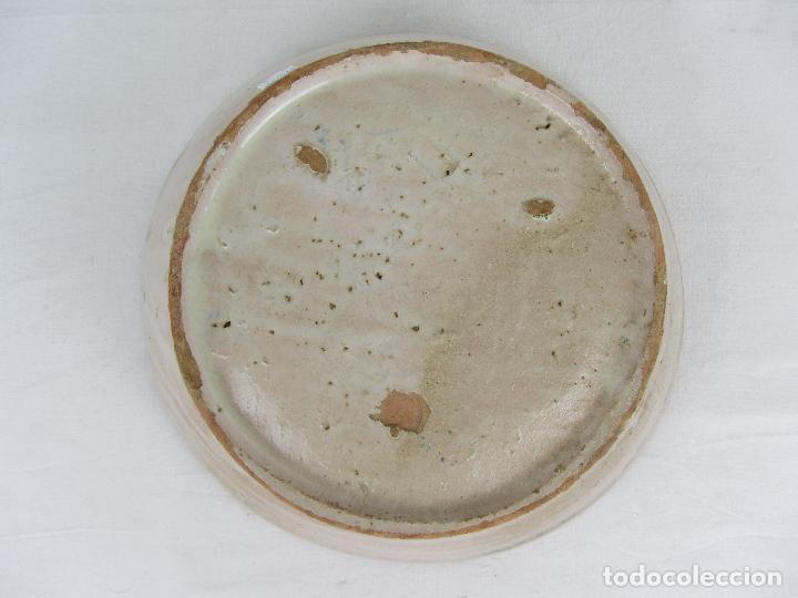 Antigüedades: Fuente en cerámica de Fajalauza, del siglo XIX - Foto 7 - 277082763
