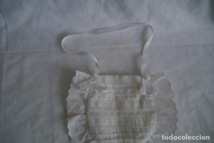 Antigüedades: Bolsa limosnera de primera comunión - Foto 3 - 277085143
