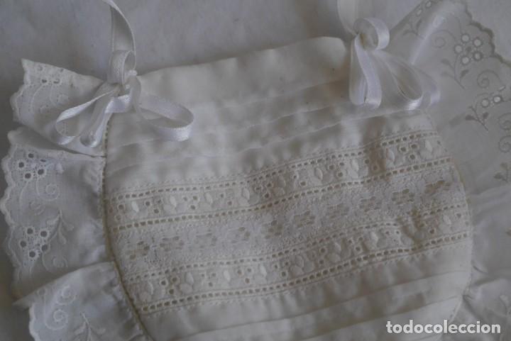 Antigüedades: Bolsa limosnera de primera comunión - Foto 5 - 277085143