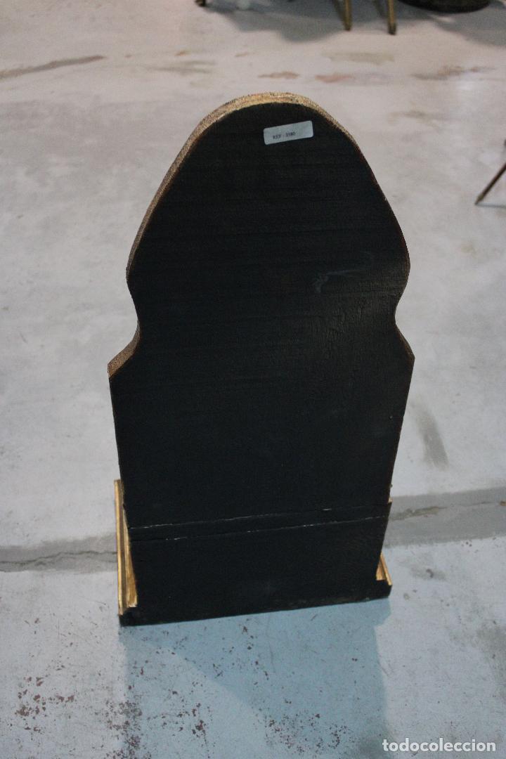 Antigüedades: figura buda de madera - Foto 5 - 277110638