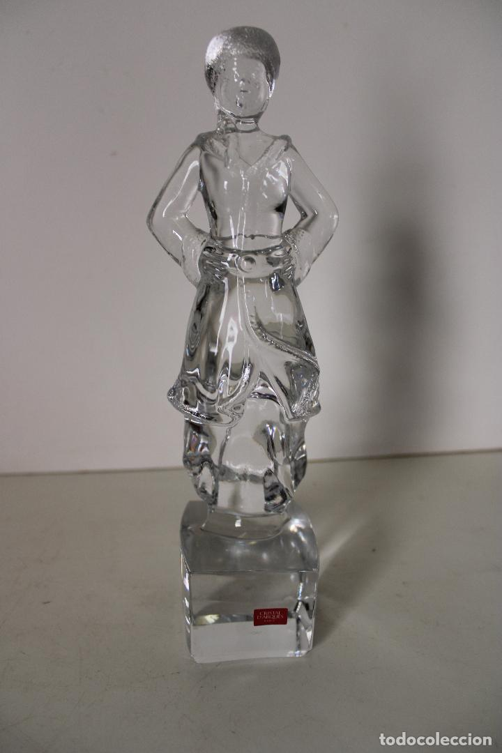 Antigüedades: figura cristal darques - paris - Foto 2 - 277112533