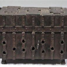 Antigüedades: MAGNIFICO SAGRARIO DE HIERRO FORJADO. AÑOS 60. Lote 277130408