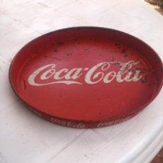 Antigüedades: ANTIGUA BANDEJA DE COCA-COLA AÑOS 60 - 70. Lote 277135473