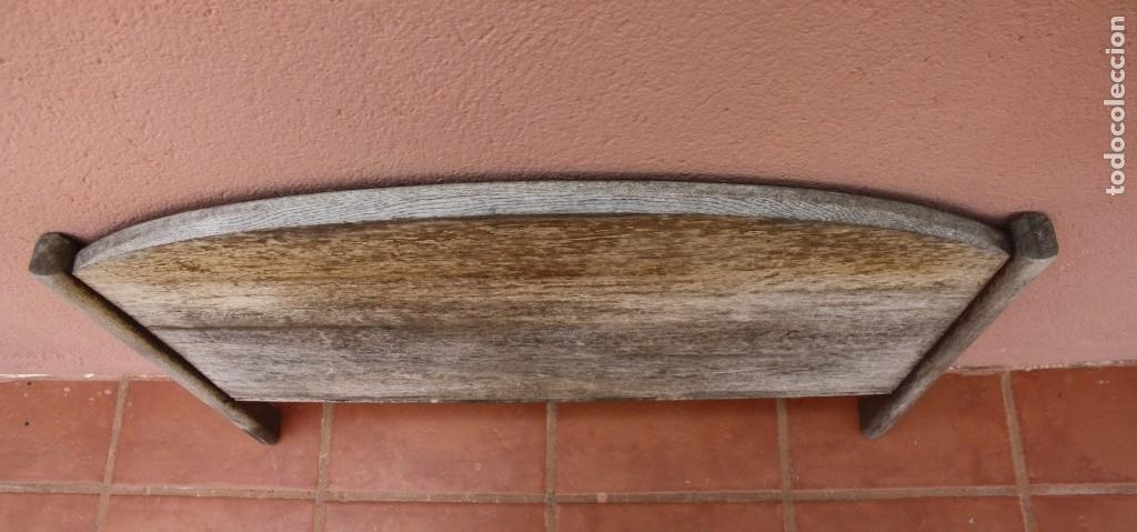 Antigüedades: MUY ANTIGUO CABECERO DE CAMA EN MADERA – NECESITA RESTARACION – PIEZA MUY BUENA YA NO SE ENCUENTRA - Foto 2 - 277152103