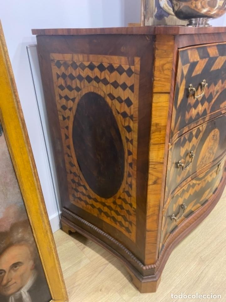 Antigüedades: Comoda escritorio siglo XVIII - XIX - Foto 2 - 277158078