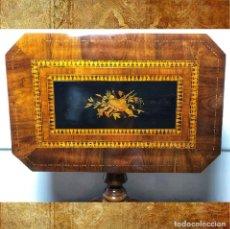 Antigüedades: MESA SORRENTINA SIGLO XIX. Lote 277181623
