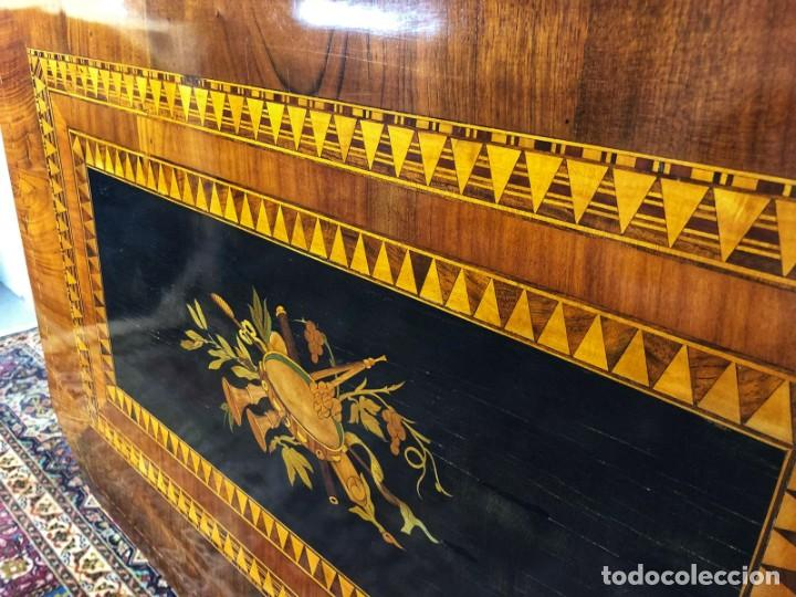 Antigüedades: Mesa Sorrentina Siglo XIX - Foto 11 - 277181623