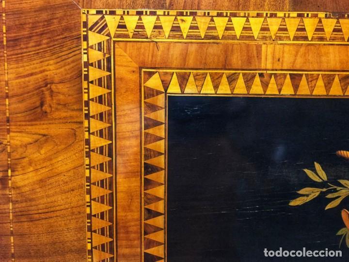 Antigüedades: Mesa Sorrentina Siglo XIX - Foto 12 - 277181623