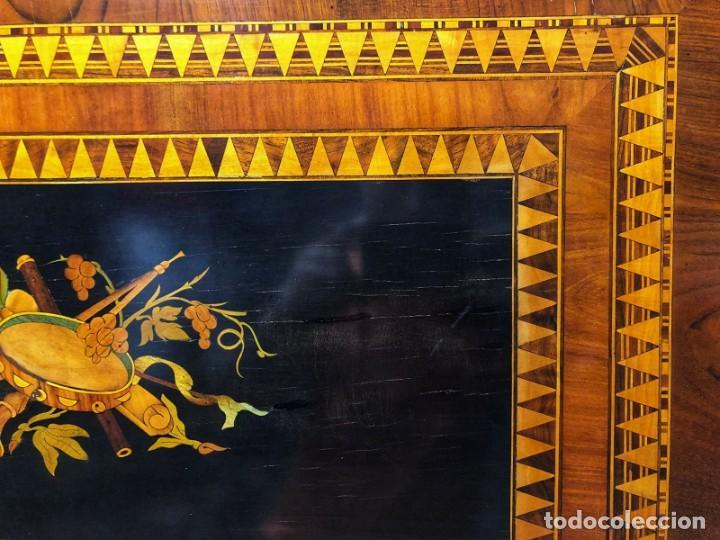 Antigüedades: Mesa Sorrentina Siglo XIX - Foto 13 - 277181623