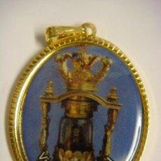 Antigüedades: LIQUIDACION 50 MEDALLAS DE LA VIRGEN DEL CRISTAL Nª-12-(&). Lote 277194463