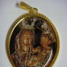 Antigüedades: LIQUIDACION 50 MEDALLAS DE LA VIRGEN DEL ROSARIO A.CORUÑA Nª-7-(&). Lote 277195413