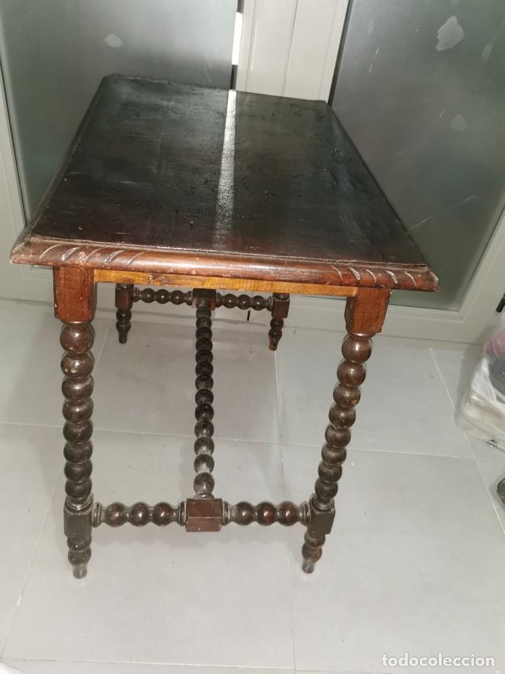 Antigüedades: Mesa bargueñera, original siglo XIX - Foto 12 - 277197938