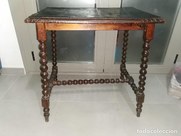 Antigüedades: Mesa bargueñera, original siglo XIX - Foto 16 - 277197938