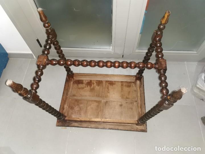 Antigüedades: Mesa bargueñera, original siglo XIX - Foto 18 - 277197938
