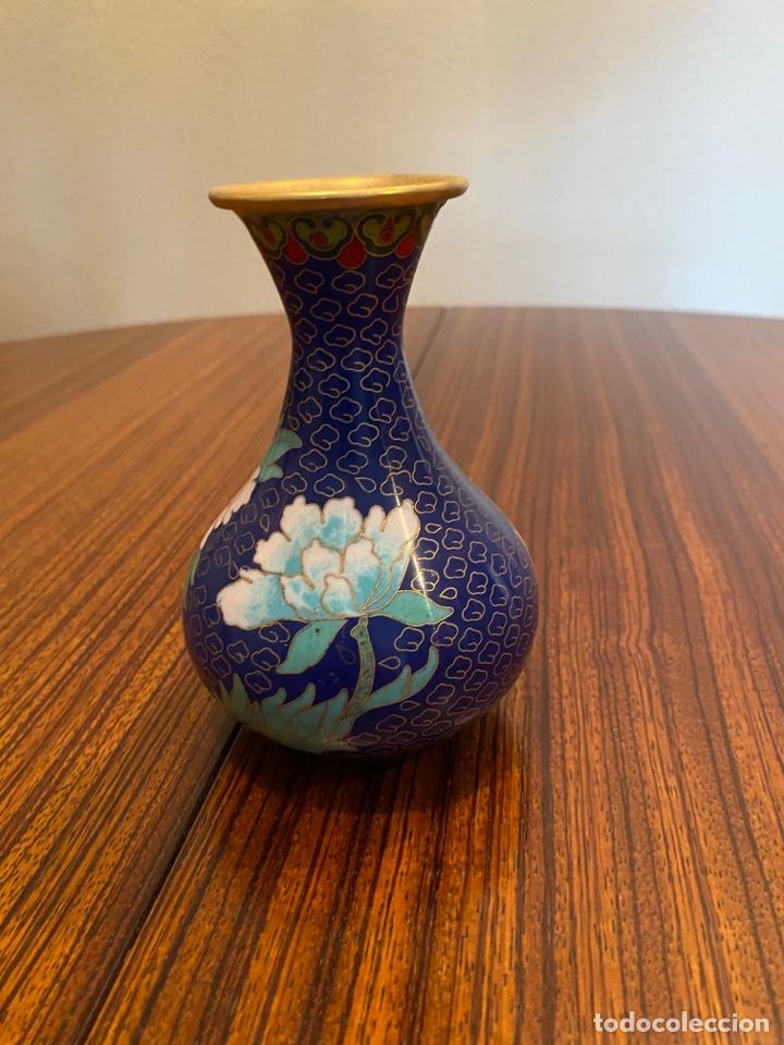 Antigüedades: Jarroncito chino esmaltado - Foto 4 - 277235883