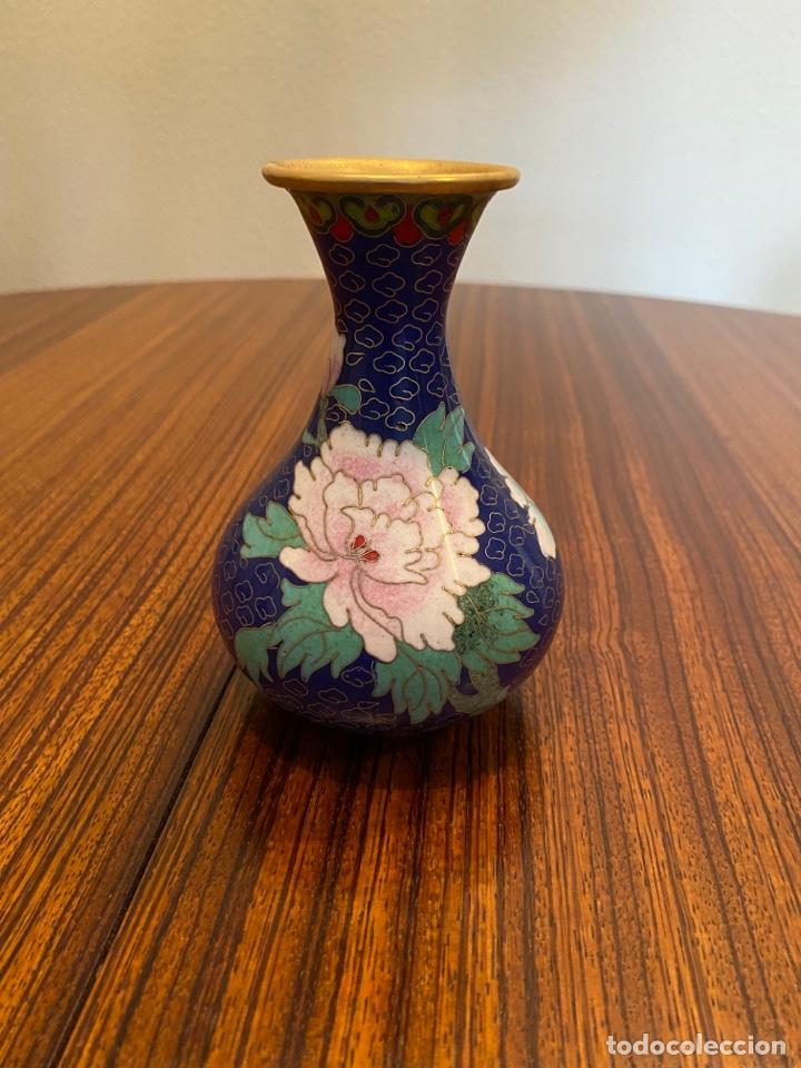 JARRONCITO CHINO ESMALTADO (Antigüedades - Porcelanas y Cerámicas - China)