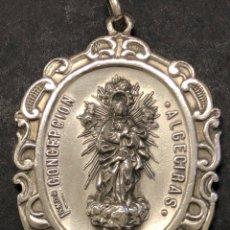Antigüedades: MEDALLA INMACULADA CONCEPCIÓN ALGECIRAS. Lote 273941178