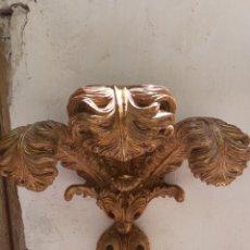 Antigüedades: ENORME TROZO DE DORADO 60 X 60 CM, MADERA.VER FOTOS Y DESCRIPCION. Lote 277287228
