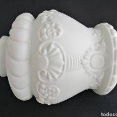 Antigüedades: GRAN TULIPA EN OPALINA ANTIGUA PARA LÁMPARA ART DECO. Lote 277300878
