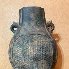 Antigüedades: JARRÓN CHINO PATINADO. Lote 277304603