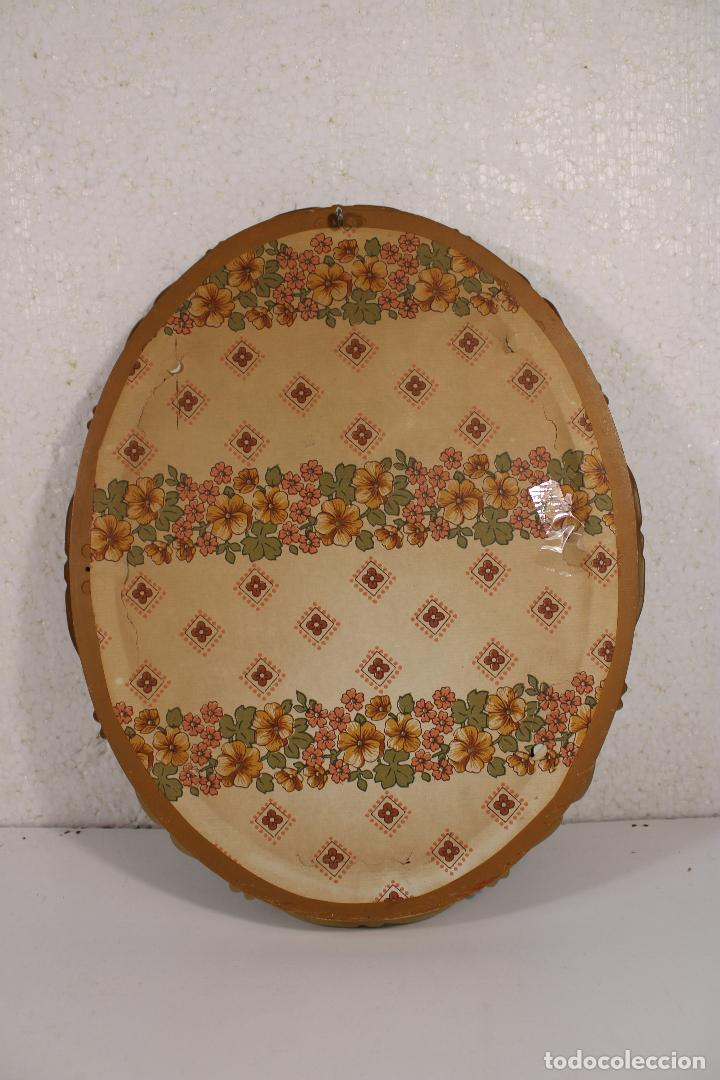 Antigüedades: CUADRO OVAL DORADO VIRGEN DE LIPPI - Foto 2 - 277419908