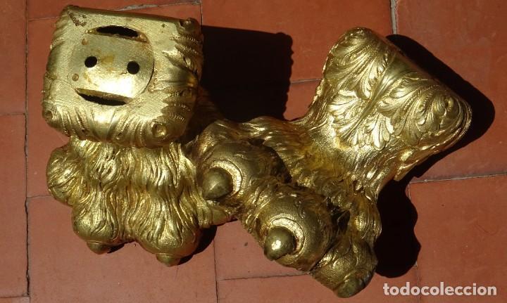 Antigüedades: Patas de Bronce Siglo XVIII - Foto 4 - 277433288