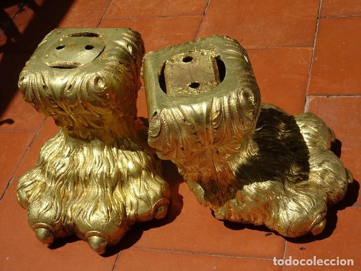 Antigüedades: Patas de Bronce Siglo XVIII - Foto 6 - 277433288