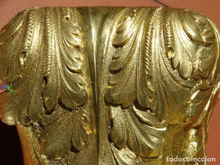 Antigüedades: Patas de Bronce Siglo XVIII - Foto 8 - 277433288