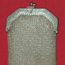 Antigüedades: MONEDERO DE PLATA MODERNISTA. Lote 277441863