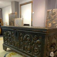 Antigüedades: ARCÓN ESTILO RENACIMIENTO S. XIX. Lote 277447603