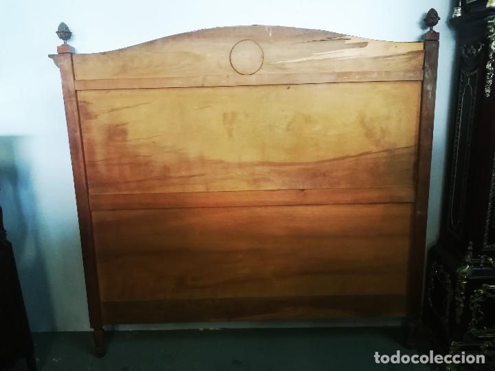 Antigüedades: CABECERO DE CAMA CON BISCUIT WEDGWOOD - Foto 7 - 192813047