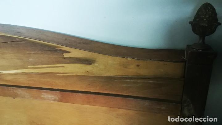 Antigüedades: CABECERO DE CAMA CON BISCUIT WEDGWOOD - Foto 16 - 192813047