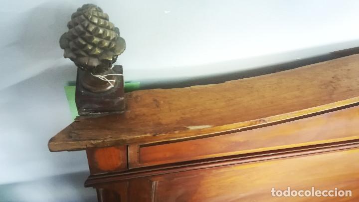 Antigüedades: CABECERO DE CAMA CON BISCUIT WEDGWOOD - Foto 6 - 192813047