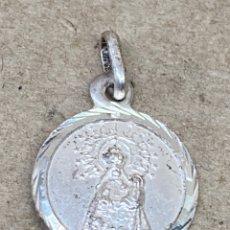 Antigüedades: MEDALLA DE PLATA RELIGIOSA. Lote 277512938
